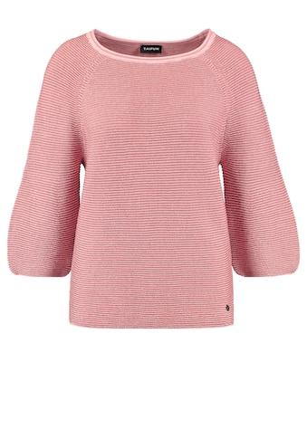 Taifun 3/4 Arm - Pullover »Pullover mit Ballonärmeln« kaufen