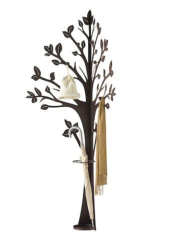 Baumgarderobe mit integriertem Schirmständer kaufen