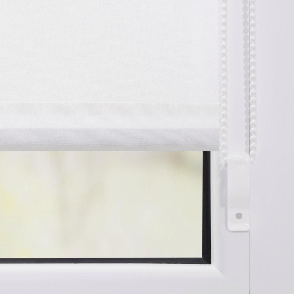 LICHTBLICK Seitenzugrollo »Klemmfix Motiv Sterne«, Lichtschutz, ohne Bohren, freihängend, bedruckt