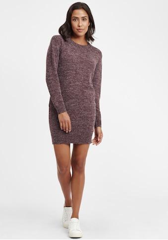 OXMO Strickkleid »Natti«, Kleid mit Rundhalsausschnitt kaufen