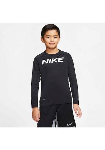 Nike Langarmshirt »B NP LS FTTD TOP« kaufen