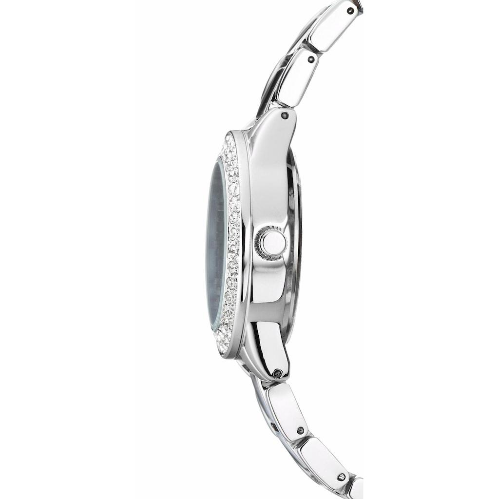 Buffalo Quarzuhr, (Set, 2 tlg.), mit 2-reihigem Armband