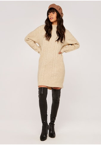 Apricot Strickkleid »Cable Knit Dress«, mit Zopfmuster kaufen