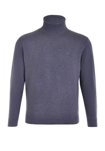 NAVIGAZIONE Rollkragenpullover, mit Brustlogo kaufen