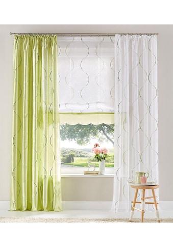 my home Raffrollo »Tayma«, mit Klettband kaufen