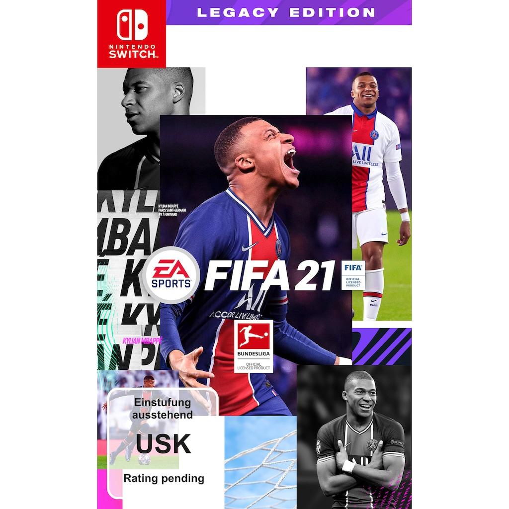 Electronic Arts Spiel »FIFA 21 Legacy Edition«, Nintendo Switch