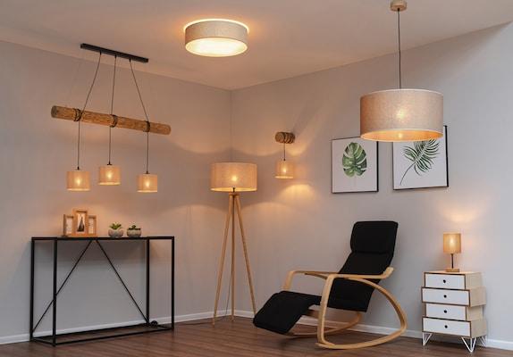 nachhaltige Möbel und Leuchten