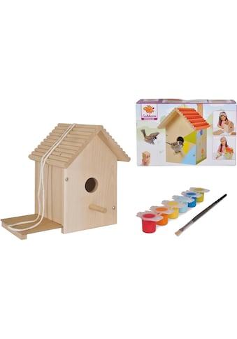 Eichhorn Kreativset »Eichhorn Outdoor, Vogelhaus«, (Set), Zum Zusammenbauen und... kaufen