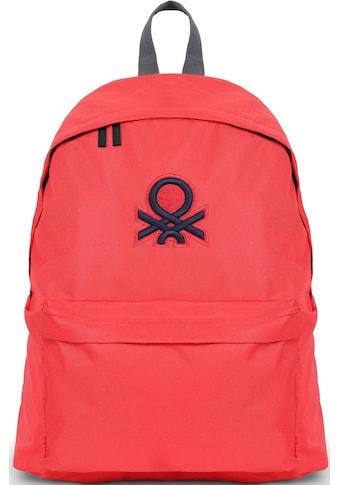 United Colors of Benetton Freizeitrucksack »Journey, red« kaufen