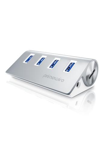 Primewire 4 Port USB 3.0 SuperSpeed Datenhub kaufen
