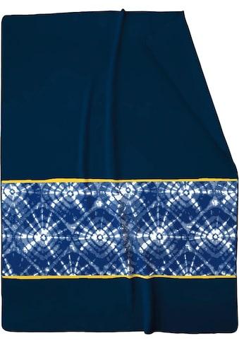 BIEDERLACK Wohndecke »Batik«, mit Muster kaufen