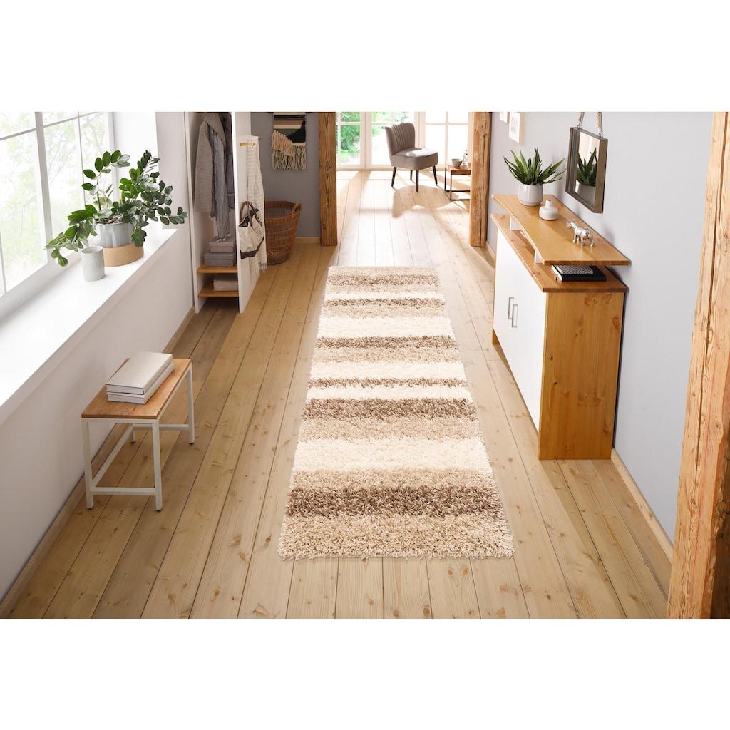 Home affaire Hochflor-Läufer »Riga«, rechteckig, 45 mm Höhe