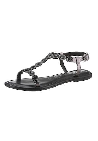 Tamaris Sandale »MILOS«, mit aufwendiger Verzierung kaufen