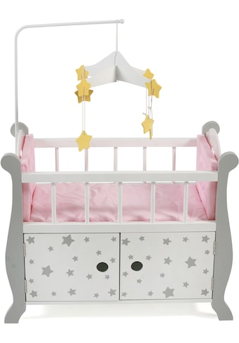 CHIC2000 Puppenbett »Stars Grau«, aus Holz mit Mobile kaufen