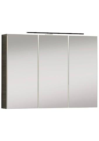 FACKELMANN Spiegelschrank »Vedea«, weiß, Breite 90 cm, 3 Türen, mit beleuchtetem... kaufen