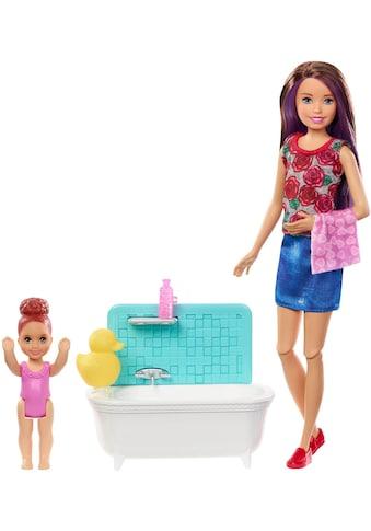 Mattel® Anziehpuppe »Barbie Skipper Babysitters Spielset mit Badewanne« kaufen