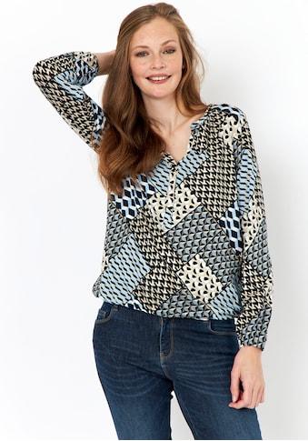 soyaconcept Print-Shirt »SC-FELICITY 318«, mit grafischem Muster kaufen