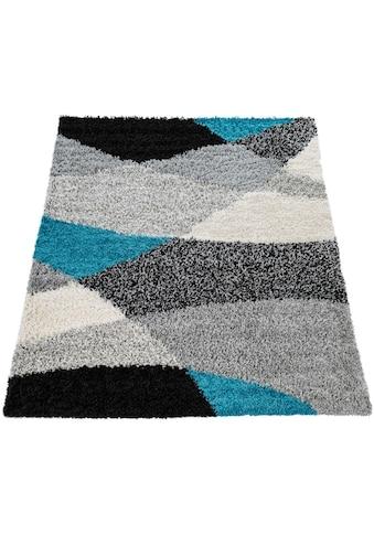 Paco Home Hochflor-Teppich »Mango 308«, rechteckig, 35 mm Höhe, Moderner Hochflor... kaufen
