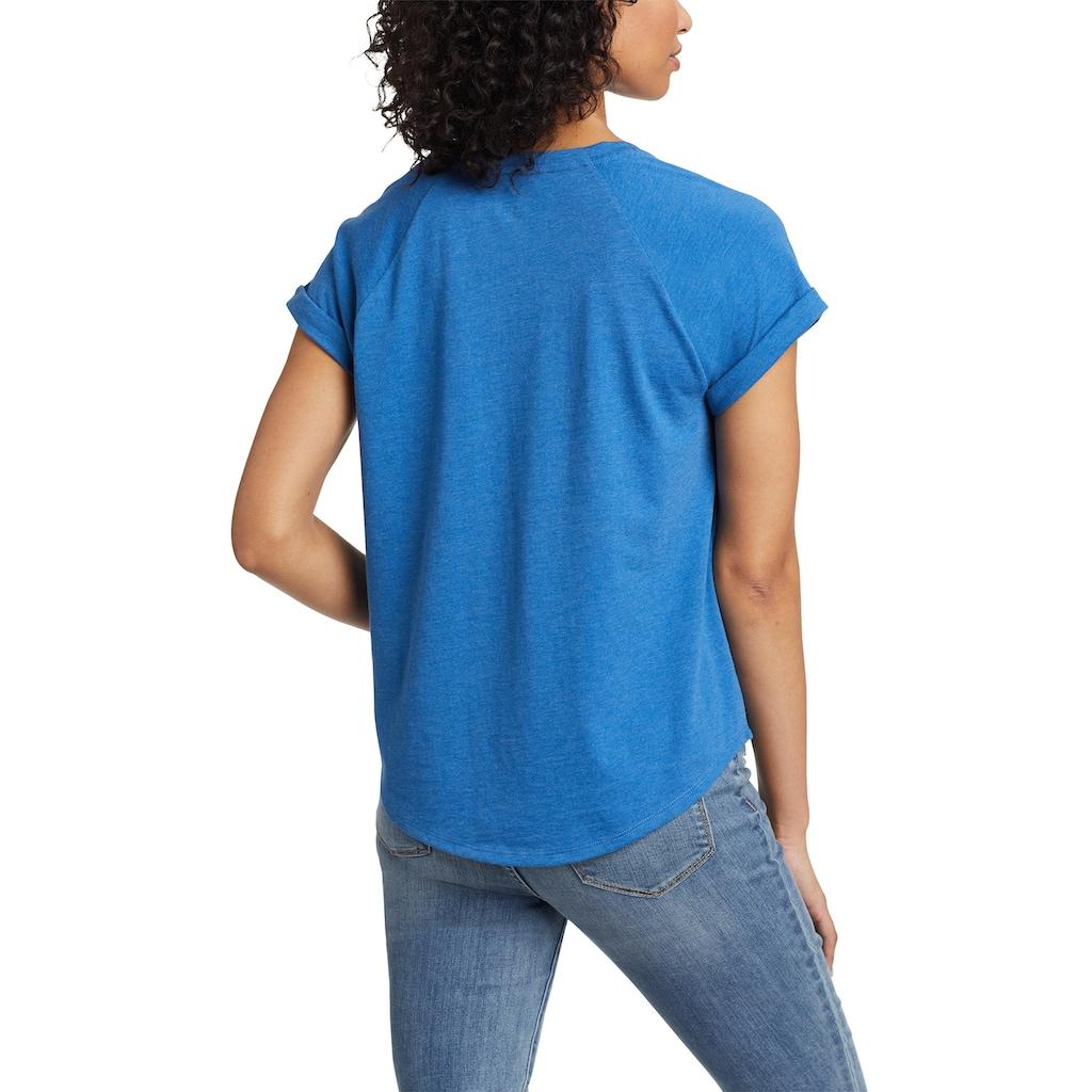 Eddie Bauer T-Shirt, Myriad T-Shirt - mit Lochstickerei