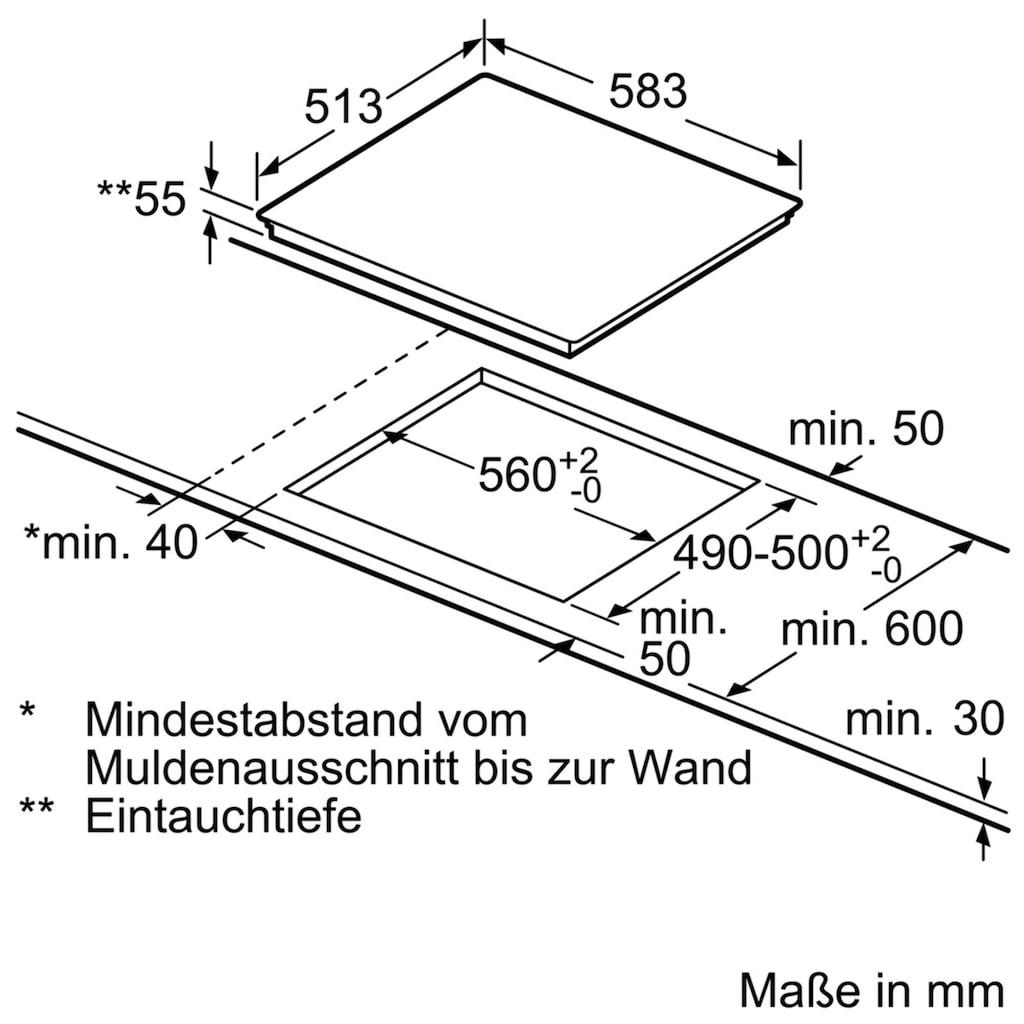 BOSCH Induktions Herd-Set »HND415LS60«
