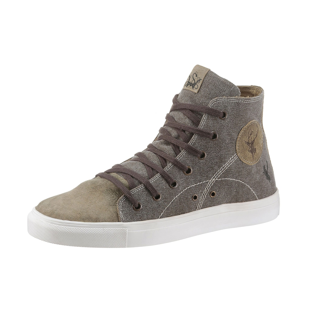 Spieth & Wensky Sneaker, mit rutschfester Gummisohle