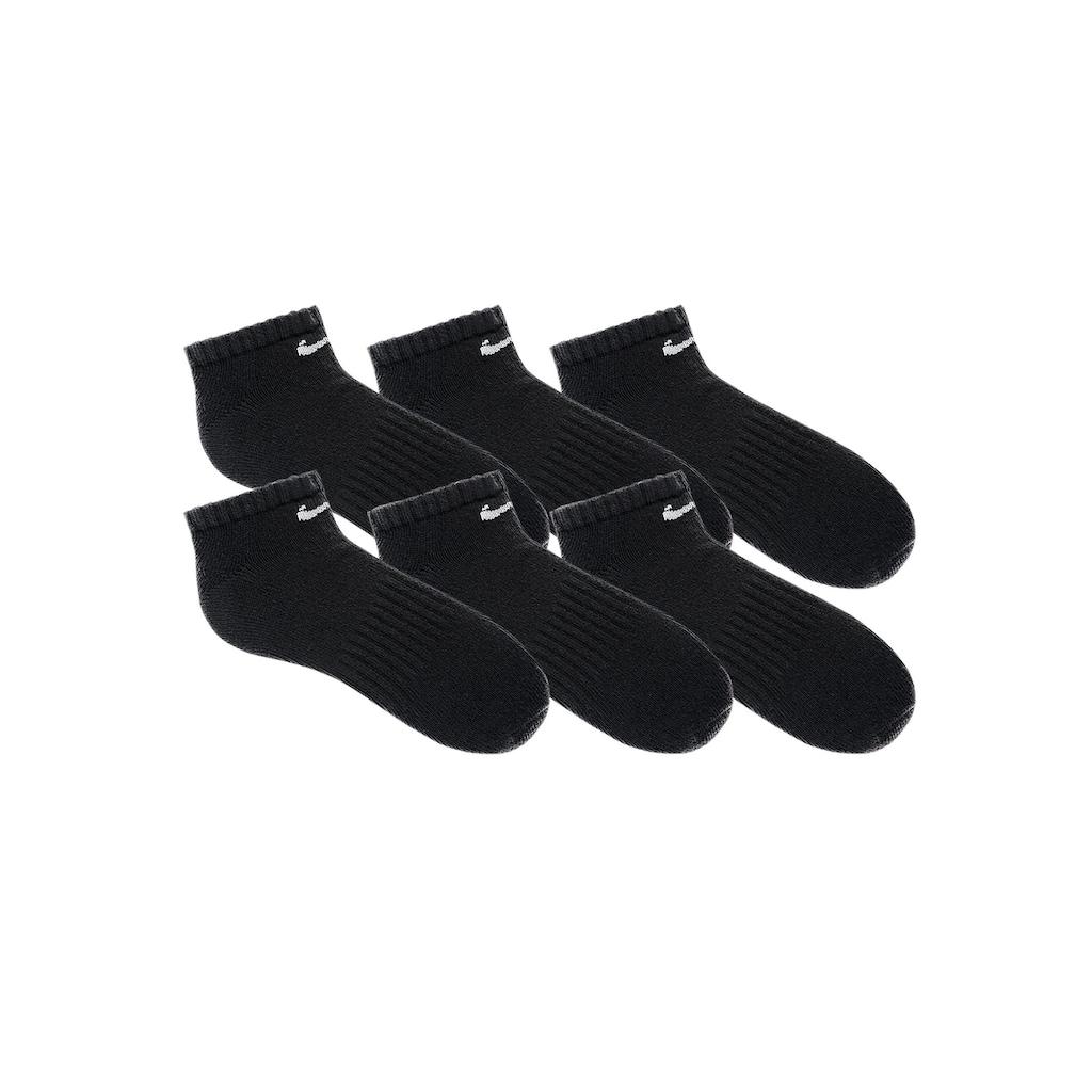 Nike Sneakersocken, (6 Paar), mit Mittelfußgummi