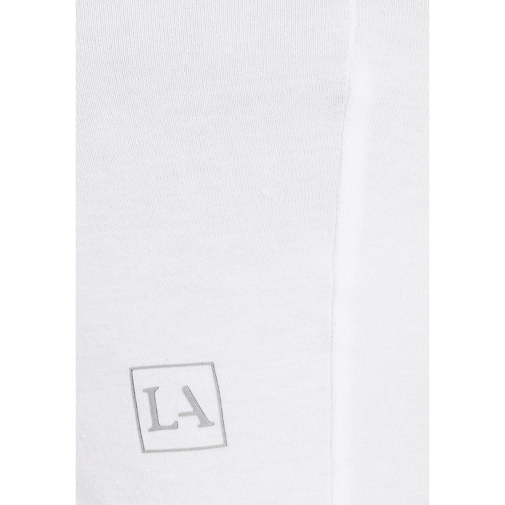 LASCANA Crop-Top, mit Tanktoptägern und Rundhalsausschnitt