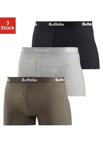 Buffalo Boxer, mit Overlock-Nähten vorn kaufen