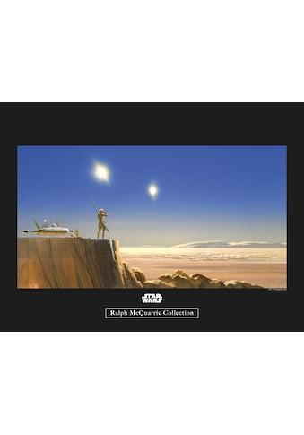Komar Poster »Star Wars Classic RMQ Mos Eisley Edge«, Star Wars kaufen