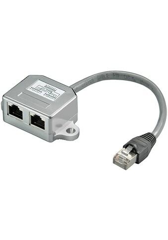 Goobay CAT 5 »Kabel - Splitter (Y - Adapter)« kaufen