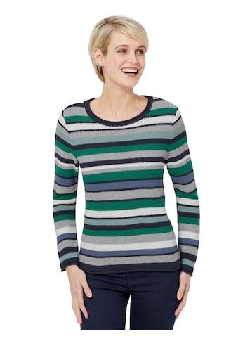 Casual Looks Pullover im Streifendessin kaufen