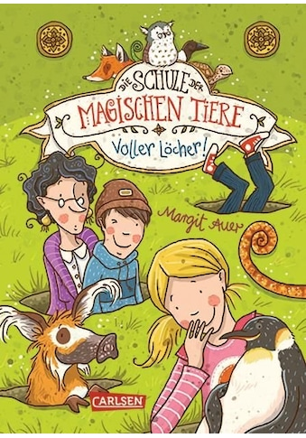 Buch »Die Schule der magischen Tiere 2: Voller Löcher! / Margit Auer, Nina Dulleck« kaufen