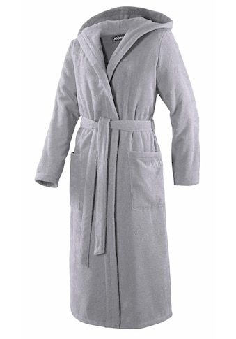 Joop! Damenbademantel »Uni Kapuze«, (1 St.), in extraflauschiger Qualität kaufen