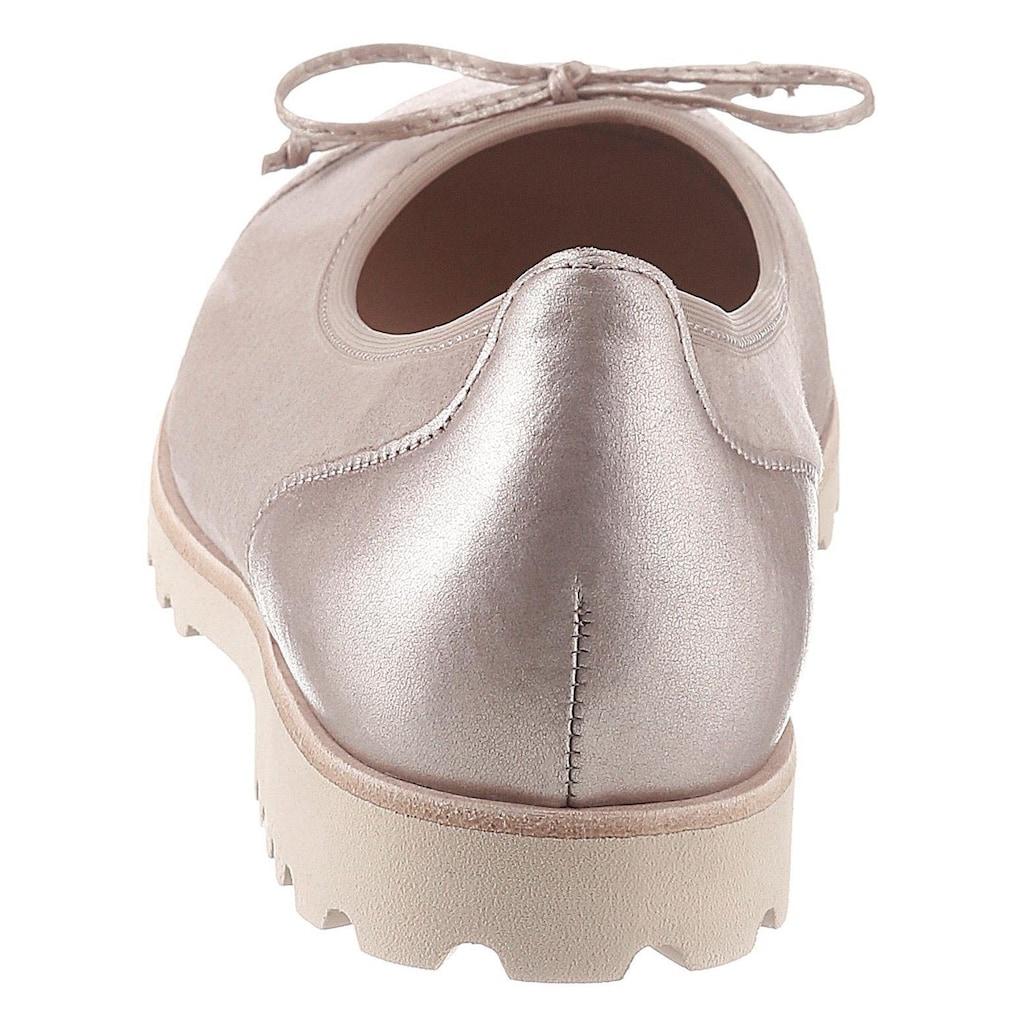 Gabor Ballerina, mit süßer Zierschleife