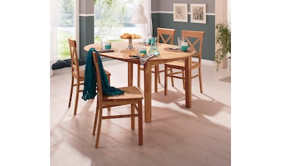 Home affaire Esstisch »Time«, Durchmesser 120 cm, mit Auszugsfunktion kaufen