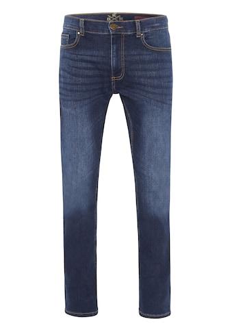Oklahoma Jeans Stretch-Jeans »Super Stretch Dark Stone Men, Jeans, GOTS« kaufen