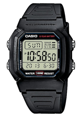 Casio Collection Chronograph »W-800H-1AVES« kaufen