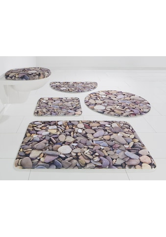 my home Badematte »Steine«, Höhe 14 mm, rutschhemmend beschichtet-Memory Schaum kaufen
