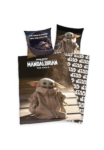 Star Wars Wendebettwäsche »Wende-Bettwäsche Star Wars Mandalorian« kaufen