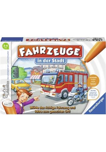 Ravensburger Spiel »tiptoi® Fahrzeuge in der Stadt«, Made in Europe, FSC® - schützt Wald - weltweit kaufen