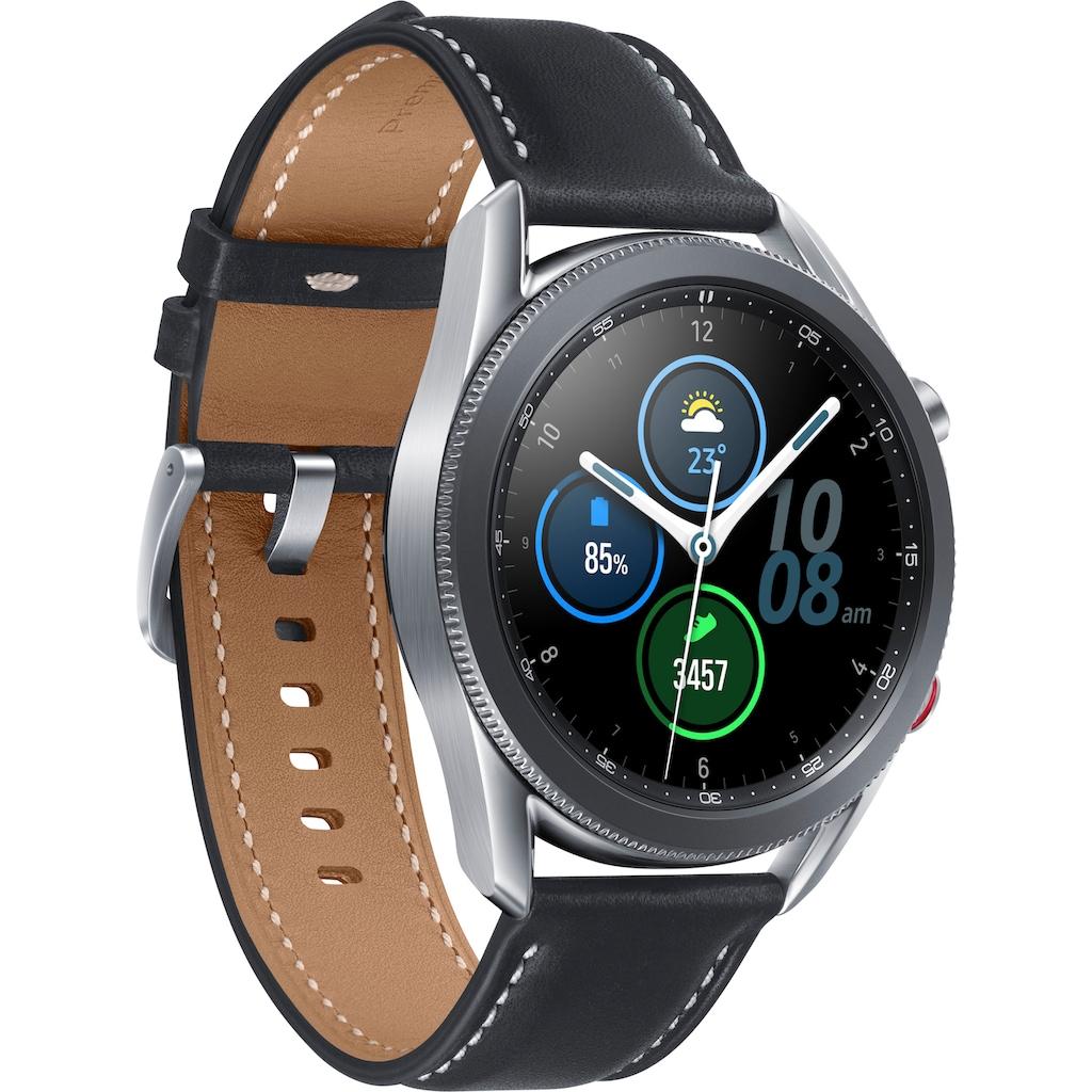 Samsung Smartwatch »Galaxy Watch 3, Edelstahl, 45 mm, LTE (SM-R845)«, ( Android Wear )