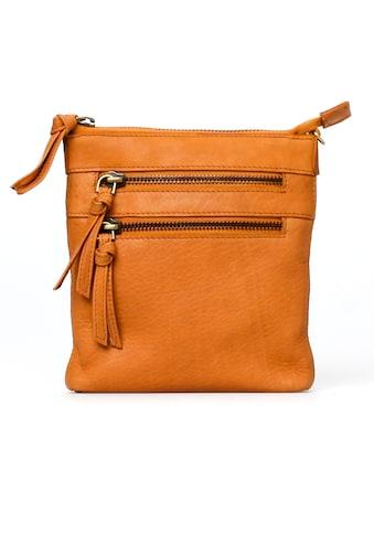 TREATS Mini Bag »Rosa Common«, aus Leder mit schicker Bänderapplikation und kleinem Format kaufen