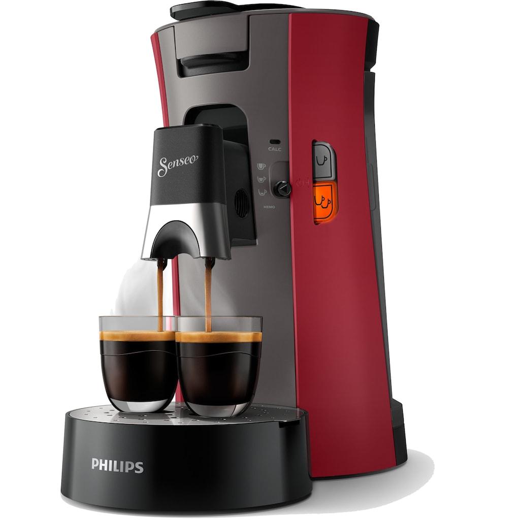 Senseo Kaffeepadmaschine »Select CSA240/90«, inkl. Gratis-Zugaben im Wert von € 14,- UVP zusätzlich zum Willkommens-Paket (80 Pads & Paddose gratis bei Registrierung)