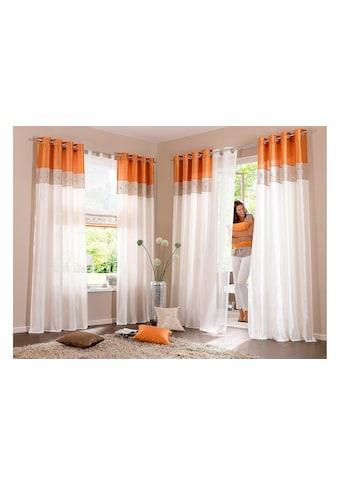 my home Gardine »Sorel«, Vorhang, Fertiggardine, transparent kaufen