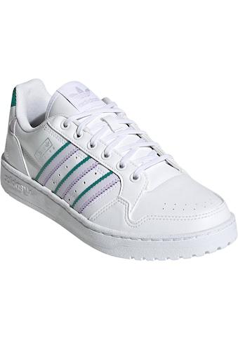 adidas Originals Sneaker »NEW YORK CITY 90 STRIPES NY PRIMEGREEN ORIGINALS WOMENS« kaufen