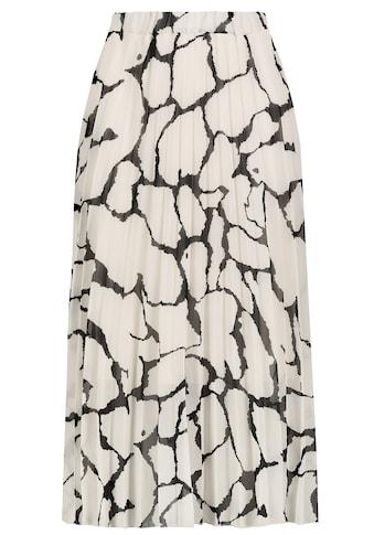 SUBLEVEL A-Linien-Rock, plissiert mit Muster kaufen