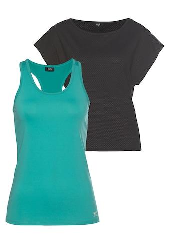 H.I.S Trainingsshirt »2-tlg. Shirt & Top« kaufen