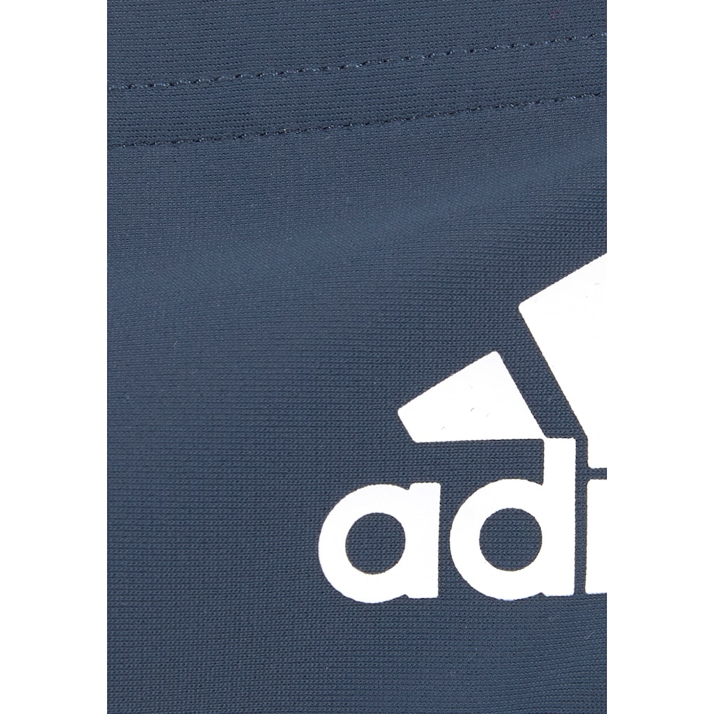 adidas Performance Badehose, mit kontrastfarbenem Einsatz im Rückteil
