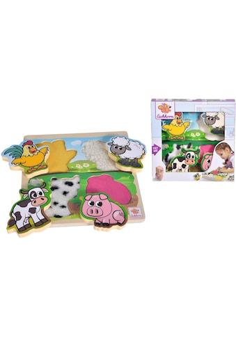 Eichhorn Steckpuzzle »Fühl-Puzzle mit Stoff« kaufen
