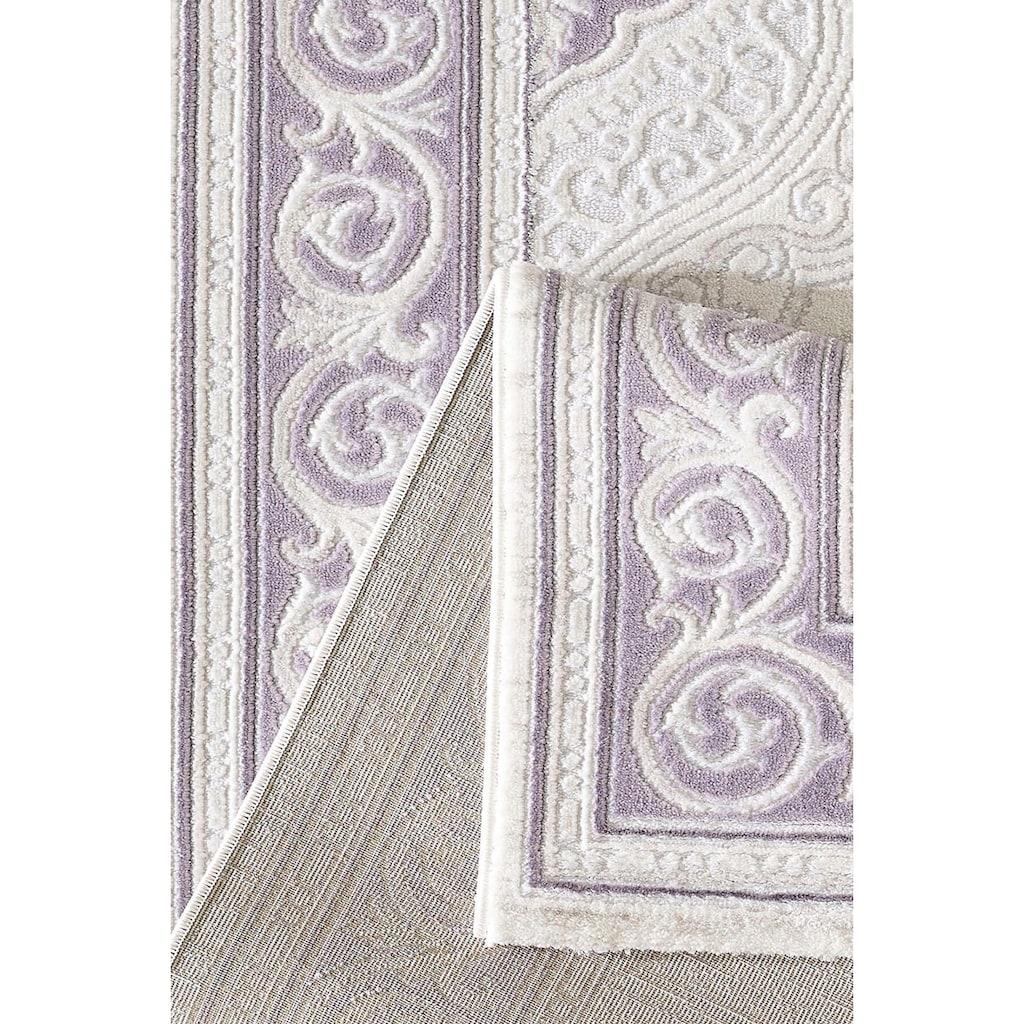 Sanat Teppich »Harmony 3201«, rechteckig, 12 mm Höhe, Vintage Orient-Optik, Wohnzimmer